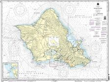 NOAA Chart Island of Oahu; Barbers Point Harbor 25th Edition 19357