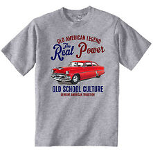 VINTAGE AMERICAN CAR HUDSON HORNET SPECIAL - NEW COTTON T-SHIRT
