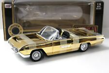 1:18 Anson Ford Thunderbird Convertible 1963 *GOLD* NEW bei PREMIUM-MODELCARS