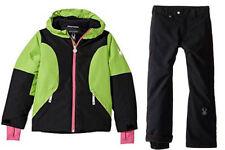 Spyder Girls Snow Suit Ski Set Dreamer Jacket & Thrill Pants, Size 10(Girl's)NWT