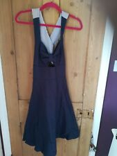 Collectif Colette Nautical Swing Dress Size 12