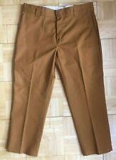 Dickies Tan Slim Taper trousers W34 L26