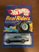 Hot Wheels Mercedes 380 SEL Real Riders Series #4363 New NRFP 1982 Gray 1:64