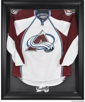 Colorado Avalanche Black Framed Logo Jersey Display Case - Fanatics Authentic