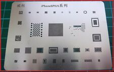 IPhone 6 Plus Modello stencil BGA-Chip IC REBALL 33 in 1 Stencil calore diretto