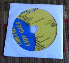 LADY GAGA KARAOKE CDG GREATEST HITS QUIK HITZ QH-1005,QH-1007 CD+G TEEN POP