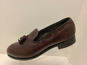 FootJoy Tassel Loafer, Dark Brown, US 11 D, Made in USA