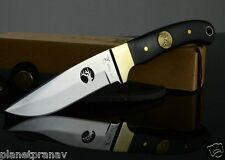 OEM ELK Ridge Fixed Blade Knife   Silver Blade   8.5 Inch Overall