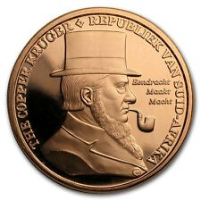 The Copper Kruger - African Leopard 1 oz .999 Copper BU Round USA Made Coin