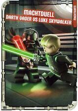 Lego Star Wars™ Series 1 Trading Cards Card 180 - Machtduell: Darth Vader Luke