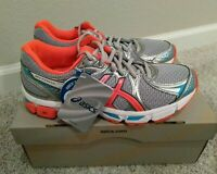 ASICS Women's Gel Exalt 2 Duomax T4B6N Gray Coral Running Shoes Size 8.5