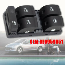 Driver Side Audi A4 8EC  B7 Seat Electric Master Window Control Switch-8E0959851