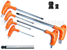 6PC Bille Fin Long Reach T POIGNÉE ALLEN Tournevis Clé Hexagonale Set H2-H8MM 22B