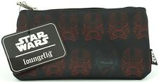 Loungefly Star Wars Red Sith Trooper Zip Pouch/ Makeup Bag/ Pencil Case