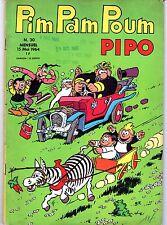 PIM PAM POUM PIPO  NUMERO  30  EDITIONS LUG  1964