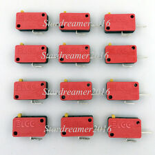 12 Pcs/lot Arcade Replacement Parts Push Button Micro Switch For JAMMA MAME Game
