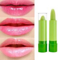 Magic Temperature Change Color Lipstick Moisture Green to Pink Lip Balm LJ