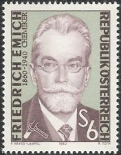 Austrian Science & Technology Postal Stamps