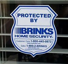 12 Brinks Home Security Alarm Decals Stickers