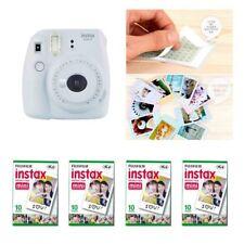 Fujifilm Instax Mini 9 cámara humo blanco 4 Packs Fuji Film 40 Foto 8