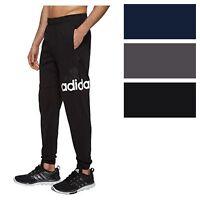 adidas Men's Essentials Performance Logo Pant Athletic Gym Jogger Sweatpants