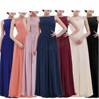 Women's Formal Dress Long Cocktail Party Wedding Bridesmaid Prom Ball Gown Maxi