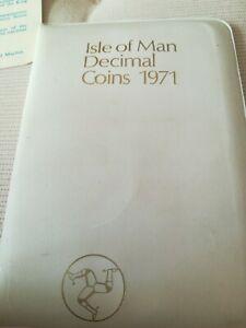 Isola Di Man Soldi Decimali 1971 In Confezione Zecca