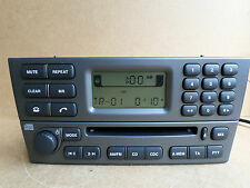Jaguar X Type X-Type Radio Stereo CD Player 4X43 Genuine 4X43-18B876-AC +CODE
