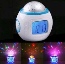 Rotating Starry Nightlight Lamp Sensory Projector Babies Kids Room Autism Toys