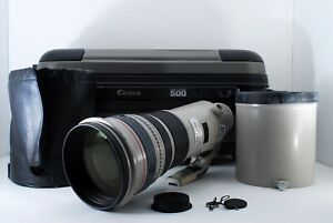 [MINT] Canon EF 500mm 500 f4 L IS USM Image Stabilized from japan free shipping