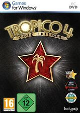 PC DVD Spiel Tropico 4 IV Gold Edition Basisspiel + Add-On Modern Times Neu&OVP
