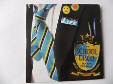 SCHOOL DISCO PROMO CD MEN AT WORK EUROPE NENA CYNDI LAUPER WEATHER GIRLS