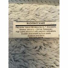 """Architectural Triangular Scale Ruler Aluminum 18"""" Alumicolor"""