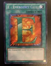 E RYMP-EN024 Secret Rare 1st Edition NM Ra Mega Pack R0V Emergency Call