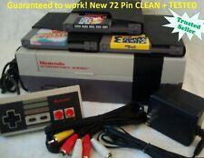 Nintendo ORIGINAL NES REFURBISHED Console System Bundle Games Super Mario 1 2 3