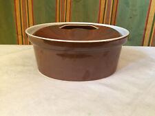 Omas Küche ovale Auflaufform mit Deckel Apilco France Porcelaine