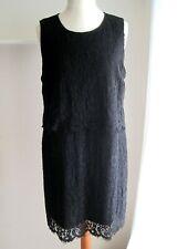 213646ed751 CREAM romantisches Kleid Stretchkleid Spitze schwarz Gr. 46 (44 46)