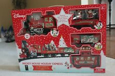 Disney Mickey Mouse Holiday Express Train Set 36 Pieces G scale - NEW IN BOX