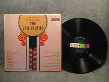 "33 RPM 12"" Record Original Hit Performances The Late Forties Decca DL 4008"