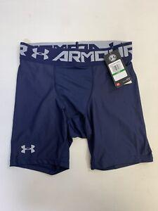 Under Armour Compression Underwear Shorts Mens Blue Large BNWT