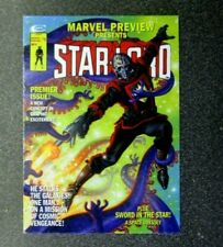 Marvel Masterpieces Upper Deck JOE JUSKO WHAT IF BASE #41 STAR-LORD 384/999