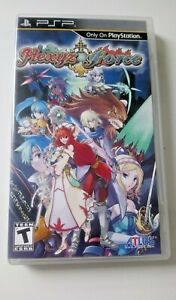 Hexyz Force - Sony PSP - RPG - Complete w/ Box and Manual - NTSC