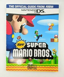 New Super Mario Bros.  Official Strategy Premiere Guide Book Nintendo Power  DS