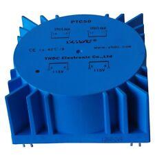 PTC50 Power 50VA/2*115V/2*15V PCB Welding Encapsulated Toroidal Transformer