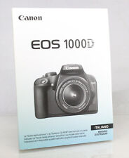 Canon 1000D Digital Camera Manual - Italian Language Version - New/Unused