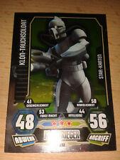 Force Attax Star Wars Serie 3 Star-Karte Nr. 212 Klon-Tauchsoldat  Sammelkarte