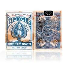 Expert Back Playing Cards Blue Edition Poker Magic Brand New