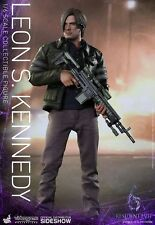 "Hot Toys--Resident Evil - Leon S Kennedy 12"" 1:6 Scale Action Figure Figure"
