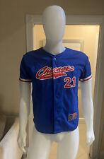 MLB Chicago Cubs Sammy Sosa #21 MLB Players Choice Sewn Jersey L Sport Attack