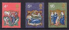 Seasonal, Christmas Pre-Decimal Great Britain Stamps